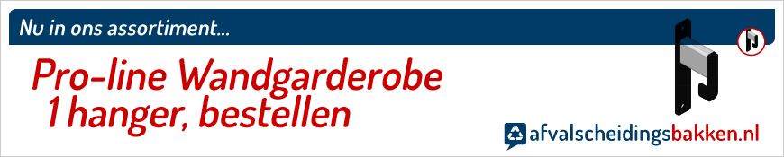 Pro-line Wandgarderobe 1 hanger kopen
