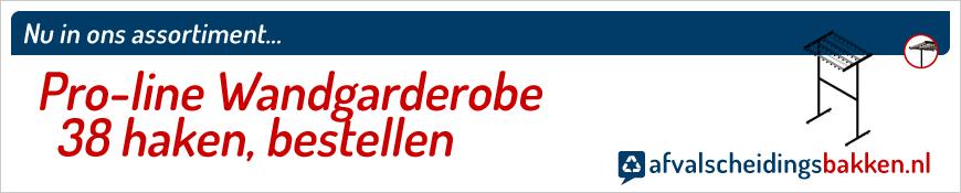 Pro-line Garderoberek enkelzijdig 38 haken kopen